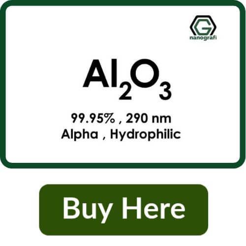 Aluminium Oxide (Al2O3) Nanopowder/Nanoparticles, Alpha, High Purity: 99.95%, Size: 290 nm, Hydrophilic