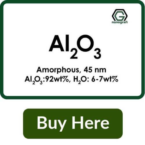 Aluminium Oxide (Al2O3) Nanopowder/Nanoparticles, Amorphous, Size: 45 nm, Al2O3: 92 wt%, H2O: 6-7 wt%