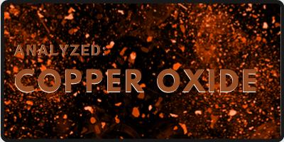 Analyzed: Copper Oxide