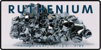 Ruthenium Nanopowder/Nanoparticle